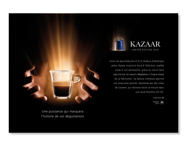 Kazaar Postcard Back